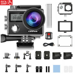 Campark 4K 20MP Sports Action Camera DVR EIS Video Recorder Waterproof as GoPro