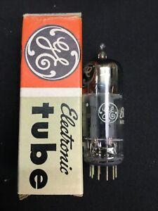 GE 6463 NOS NOB Dual Triode Vintage VACUUM TUBE Vintage TESTED USA 7.4527-D