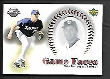 SEAN BURROUGHS   2002 SWEET SPOT GAME FACE #175   SAN DIEGO PADRES