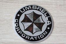 Umbrella Corporation 3D Alu Plakette Sticker Schriftzug Aufkleber Emblem Logo 5