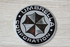 Umbrella Corporation 3d alu Badge Sticker Lettrage Autocollant Emblème LOGO 5