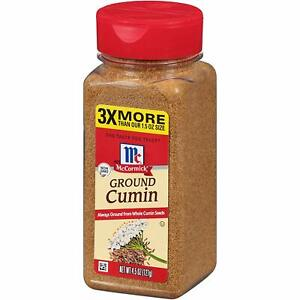 McCormick Ground Cumin, Quality Flavor, 4.5 oz