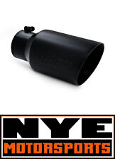 """MBRP 12"""" BLACK FINISH EXHAUST TIP 4"""" INLET 6"""" OUTLET ANGLED DUAL WALL"""