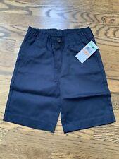 Nwt! Tommy Hilfiger Boys Size 7 Navy Elastic Waist Shorts