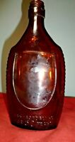 "Vintage 16 oz ""GOLDEN WEDDING"" Whiskey Bottle ~ ""HAS HAD NO PEERS FOR 50 YEARS"""