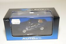 * AUTOART AUTO ART 50203 ASTON MARTIN DB7 METALLIC BLUE MINT BOXED