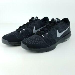 Nike Air Max Typha Men's Training Shoes Black Silver 820198 008 Sizes 7.5, 8