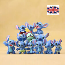 Interstellar Anime Action Figure Lilo Stitch Collection Toy Kids Xmas Gift 12pcs