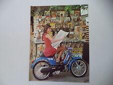 advertising Pubblicità 1977 PIAGGIO BOXER 50
