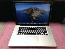 Apple Macbook Pro A1286 2012 Intel i7 3615QM@2.3GHz 8GB RAM 500GB HDD | C771