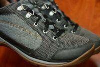 Chaco Kanarra Womens Gray Black Walking Trail Hiking Sneakers Shoes Size 10.5