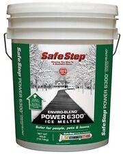 Safe Step 6300 Power 40lb Bucket Premium Ice Melter North American Salt Enviro