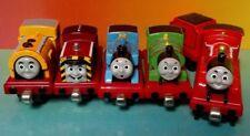 Thomas James + Tender Percy Ben Salty -Thomas Metal Diecast Take Along Train Lot