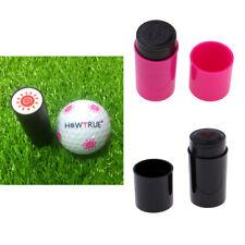Set 3 Golf Ball Stamper Stamp Seal Impression Marker Print for Golfer Clubs