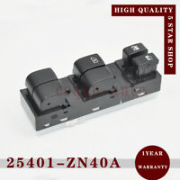 25401-ZN40A Power Window Master Switch Left for Nissan Altima 2007-2012 2.5 3.5