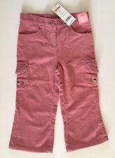 NWT Gymboree 3 3T Girl Detective Pink Corduroy Flower Pocket Pants