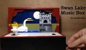 LEGO MOC Swan Lake Music Box / Automaton - Instructions PDF Manual