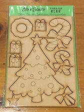 Magical Fairy Door Christmas Add On 9 piece MDF kit