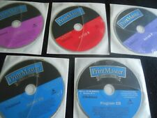 PrintMaster GOLD #11 - 7 Disc. Pkg! But No box!