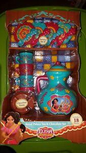 Disney Elena Of Avalor Royal Palace Tea & Chocolate Tea Set Party playset