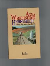 Anna Wimschneider - Herbstmilch - 1990