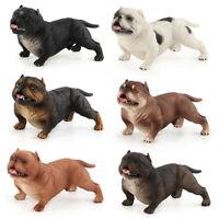 American Bully Pitbull Dog Pet Animal Figure Model Toy Collector Decor Kid Gift