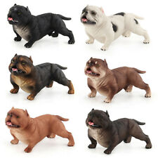 American Bully Pitbull Dog Pet Animal Figure Model Toy Collector Decor Kid Gift
