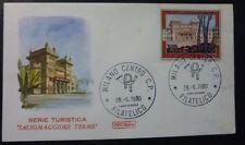 FDC ROMA - TURISTICA 1980 - SALSOMAGGIORE - PARMA