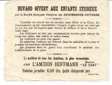 Très rare Buvard ancien ( 14 cm X 11) Amidon Hoffmann.Jamais vu sur e bay.