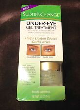 Sudden Change Under-Eye Gel Treatment 0.5 oz.result guaranteed with haloxyl new
