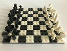 Lego Chess Set - Custom made. House Warming Birthday Fathers Day Gift