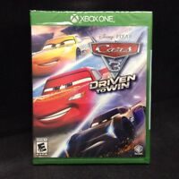 Cars 3: Driven to Win (Microsoft Xbox One, 2017) BRAND NEW/ Region Free