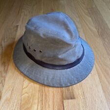 Vintage Filson Cloth Packer Hat olive size Small
