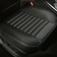 Universal Black PU Leather Car Front Seat Cushion Full Surround Bottom Cover Pad