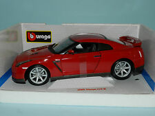 Bburago 1/18 2009 Nissan Skyline GT-R Red MIB