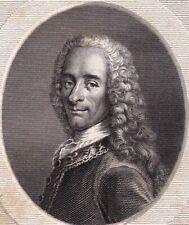 François-Marie Arouet Voltaire Philosophie des Lumières Philosophe 1822