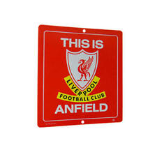 Liverpool Fc 'Anfield' Metal Sign Changing Room Bedroom Football Gift