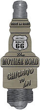 Route 66 Mother Road Spark Plug Novelty Man Cave Funny Garage Decor
