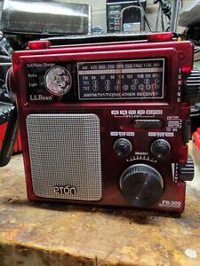 Eton L.L. Bean FR-300 AM FM Crank Emergency Weather Alert Multi-Purpose Radio