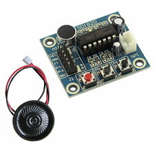 ISD1820 Voice Recording Recorder Module With Mic Sound Audio Loudspeaker New