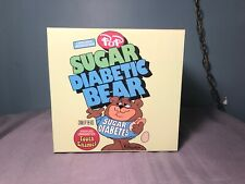 Sugar Diabetic Bear Cereal Killers by Ron English Designer Sculpture 8 inch