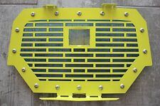 Steel Grille for RIDE COMMAND Grill Polaris RZR 1000 XP 2017 Lime Squeeze + Blue