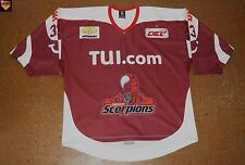 Hannover Scorpions * 12/13 * No. 33 * Raimonds Vilkoits * red/home/preseason *
