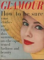 Glamour May 1958 Jean Seberg Kazan William Edmond Massee 070519DBE2