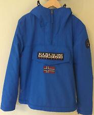 Mens Napapijri Blue Rainforest Winter Jacket XS