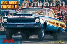Moebius Models 1:25 1965 Plymouth Hemi Melrose Missile Super Stock 1229 MOE1229