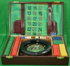 "The Baron de Rede Chemin De Fer/ Roulette Gaming Case"" Provenace: The Hotel Lamb"