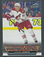 2013 13-14 UD Upper Deck Young Guns YG Rookie #239 Lucas Lessio RC Canadiens