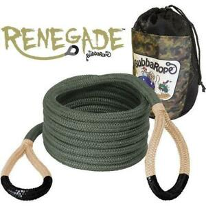 """Bubba Rope 3/4"""" x 20ft Renegade Recovery Rope - 176655BKG"""