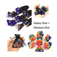 Promotion Rainbow Dice and Galaxy Dice